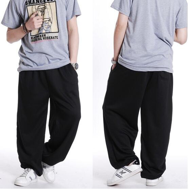 Best Seller Moda Mens Street Dance Pantalones Suelta Pantalones Pantalones Harem Hombre Hip Hop Swag Ropa Gris Negro Gris Oscuro