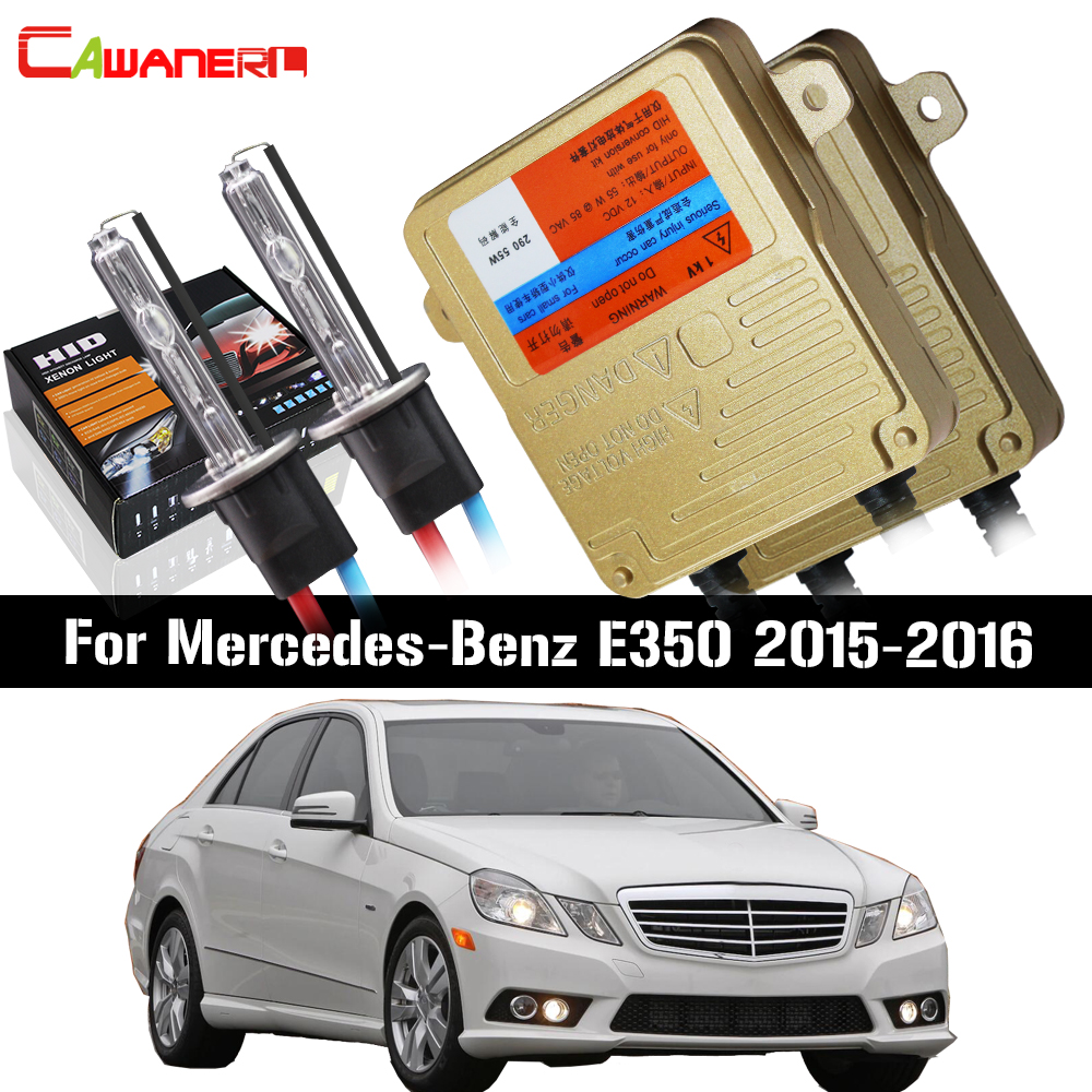 Cawanerl 55W H7 Canbus HID Xenon Kit AC Ballast Bulb Car Light Headlight Low Beam 3000K-8000K For Mercedes-Benz E350 2015-2016Cawanerl 55W H7 Canbus HID Xenon Kit AC Ballast Bulb Car Light Headlight Low Beam 3000K-8000K For Mercedes-Benz E350 2015-2016