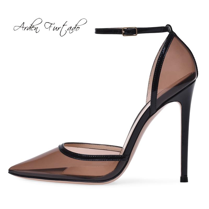 Effacer Talons Pvc Furtado Bout Cheville Dames 12 D'été Stilettos Sandales Sexy 2019 Taille Hauts Femmes Grande Chaussures Pointu Boucle Cm Arden De En xwOqx