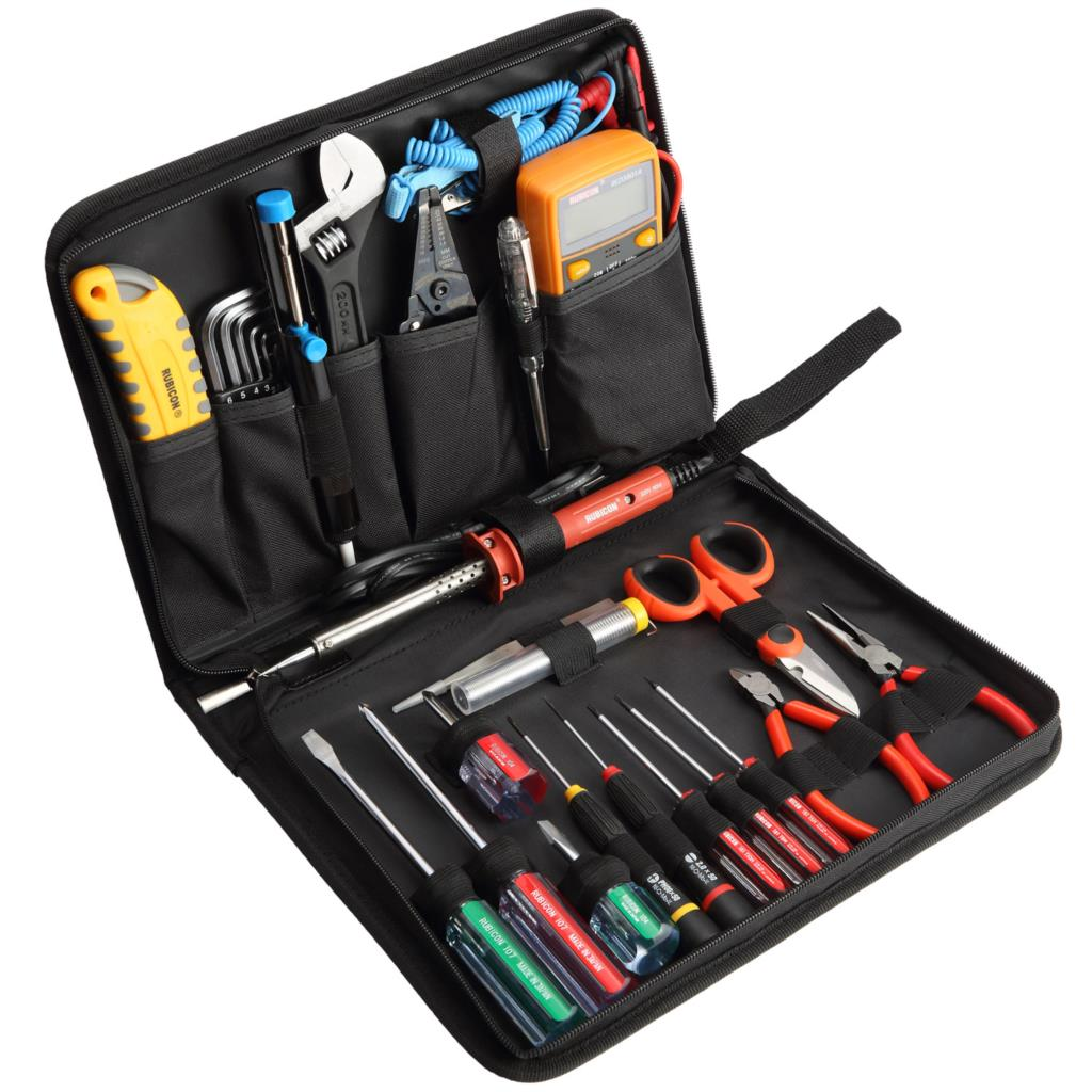Electronic Instruments And Tools : Rubicon rts piece electronic tool set tools kit in