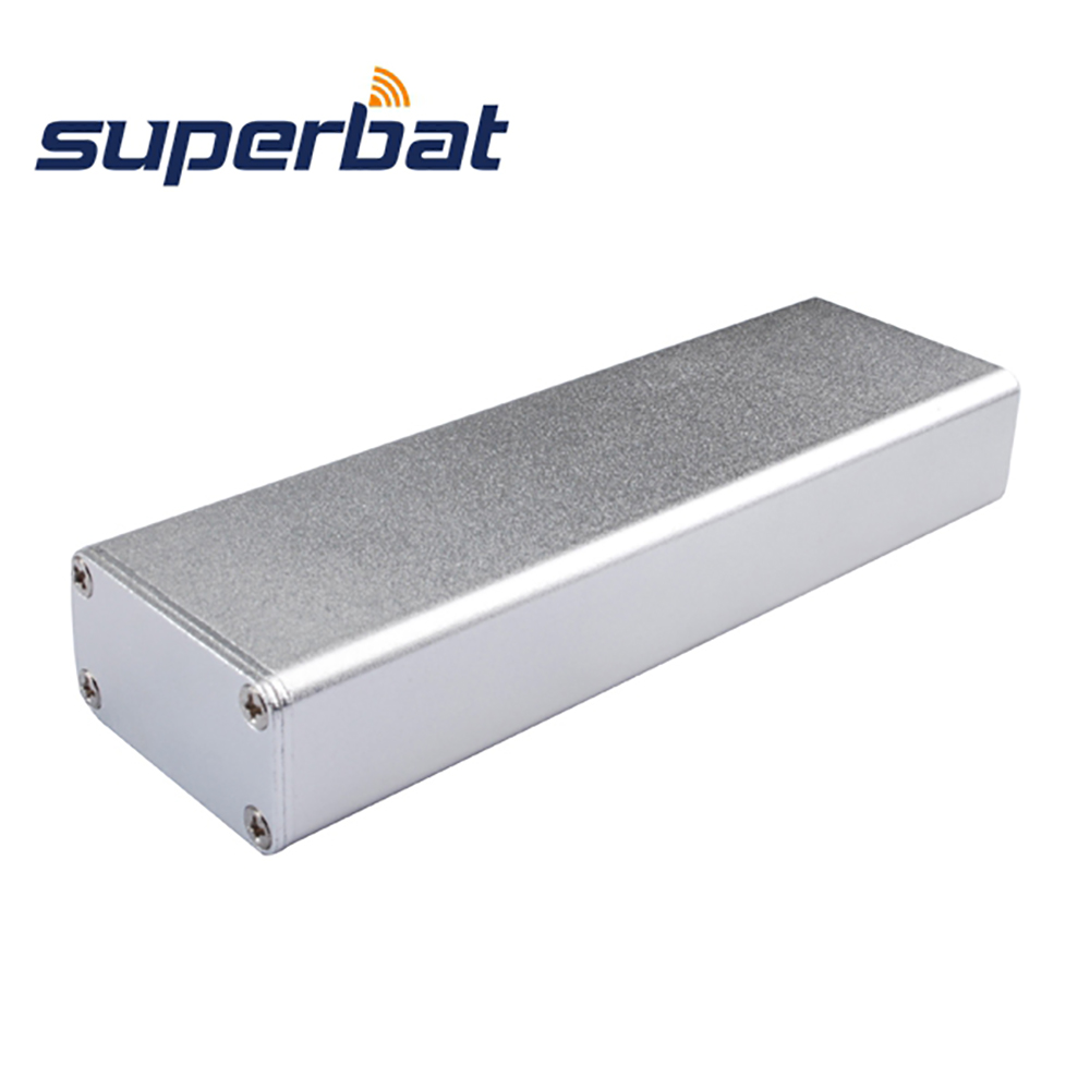 Excellent 110*35*18.5 MM Aluminum Junction Box Electronics Project Enclosure Case for PCB Power Amplifier DIY 4.33″*1.38″*0.73″