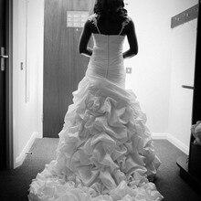 kejiadian satin Wedding Dress Royal Train Bridal Gown