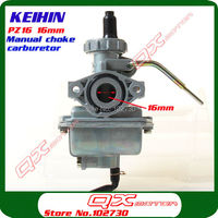 Free Shipping KEIHIN PZ16 16mm Carburetor For 50 70 90cc ATV Quad Mini Bike Dirt Pit