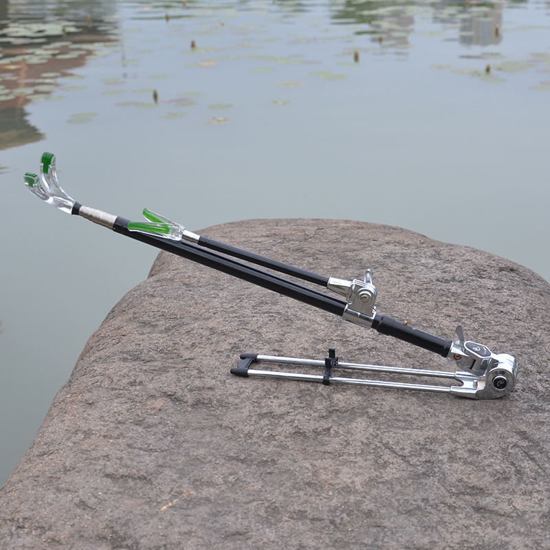 New Stainless SteelSwingable Telescopic Fishing Rod Holder Support Bracket Fishing Accessory Tool Can be folded new practical adjustable fishing rod pole holder bracket fishing rack tool accessory support