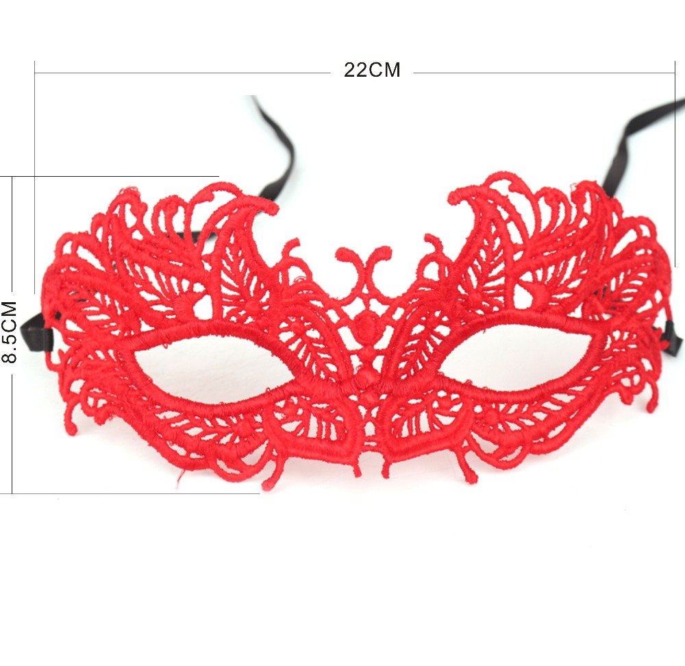 Lace Masks Sex Women Lace Eye Mask Dance Party Mask Հելոուին - Տոնական պարագաներ
