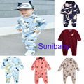2016 bobo choses baby boy clothes baby girl clothes kids RED GREEN panda romper jumpsuits kikikids vestidos baby clothing