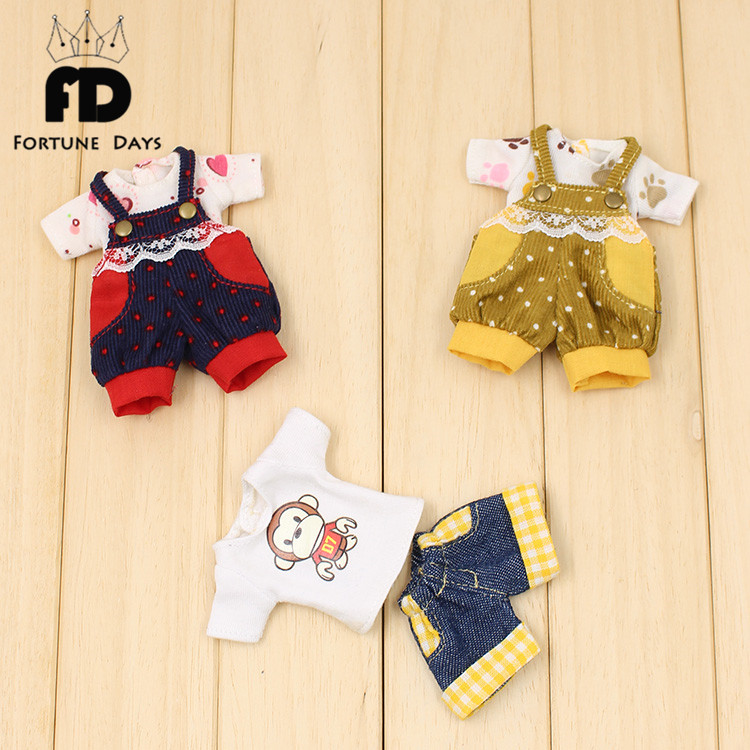 only for middie doll 20cm outfit dress clothes short pants 1/8 toy gift