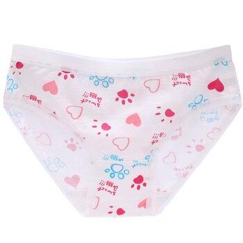 TWTZQ nueva llegada de tamaño grande L-XXXL de algodón Sexy ropa interior de las mujeres bragas 15 color rosa código grande bragas de las mujeres escritos 3NK081