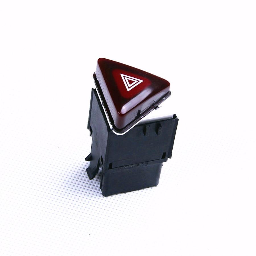 OEM-Dark-Red-Hazard-Alarm-Switches-Warning-Switch-For-VW-Jetta-Golf-GTI-MK5-Rabbit-18G