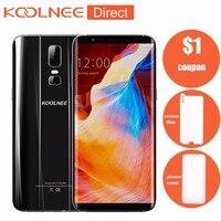 New Koolnee K1 Unlocked Mobile Phone Android MTK6750T Octa Core 6.01 4GB RAM 64GB ROM 1080x2160 pixels 4G LTE Smartphone
