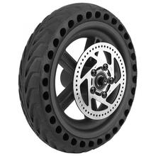 Electric Scooter Rear Tire with Wheel Hub Disc Brake Disc Set Scooter Back Tyre for Xiaomi Mijia M365 Electric Scooter Parts