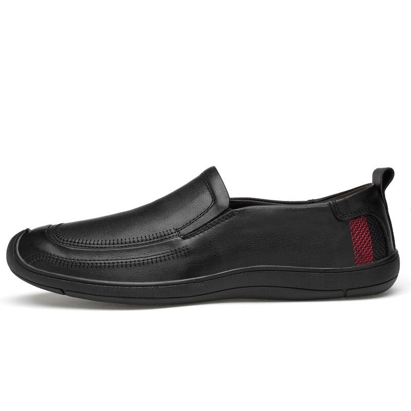 Loafers Alta dark Homens Condução De Slip Brown Mocassins Nova Brown Couro Chegada Flats Qualidade Casuais Moda On light Black Naturais Sapatos BwnSq6