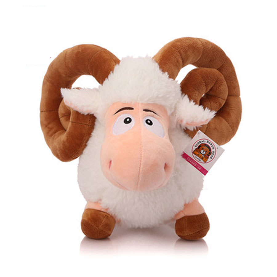 Cute Sheep Plush Doll Little Girl Stuffed Toy Speelgoed Pluche