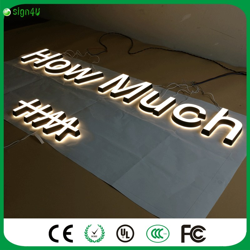US $439 0 |Factory Outlet 2016 Newest Super high brightness illuminated  acrylic LED letters for shop sign-in LED Modules from Lights & Lighting on