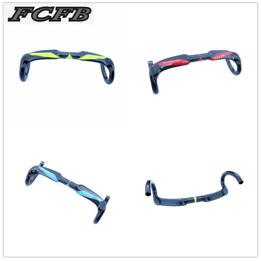 fast ship 2016 hot sale FCFB FW full carbon fiber road bicycle handlebar internal bent bar
