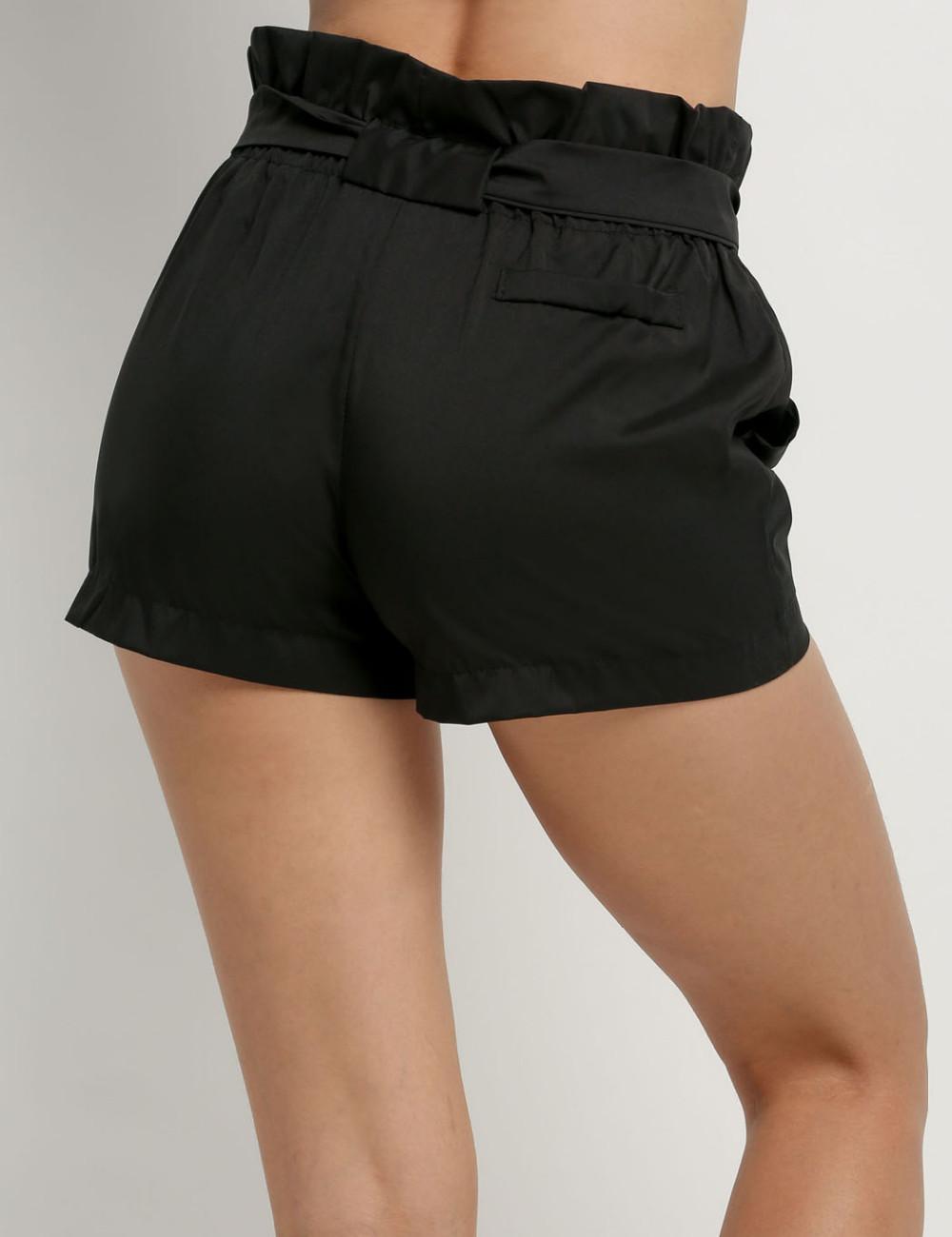 HTB1MpQKNFXXXXaTXFXXq6xXFXXXq - High Waist Shorts Loose Shorts With Belt Woman PTC 59