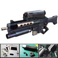 3D Paper Model Gun CS Tip Warriors Handmde DIY Weapon Toy For Cosplay