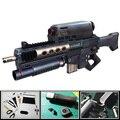 3D modelo de papel arma CS ponta guerreiros Handmde DIY arma de brinquedo para Cosplay