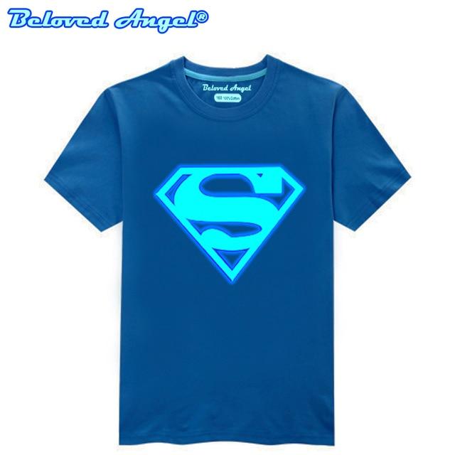 Children Clothing T-Shirt For Boys Fashion T Shirt Teen Girl Luminous Cotton Tops Teenage Boy Glow In Dark Kids Clothes Tshirts 1