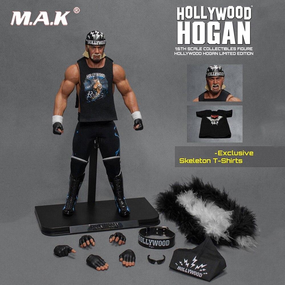 Full set figure toys 1/6 Hollywood Hogan Super Wrestler Hulk Hogan with original Box Set Figure mobula со 3l