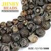 China Tibetan Dzi Eyes Beads Natural Brown Agate Stone Religion Round Loose Bead 8 10 12MM