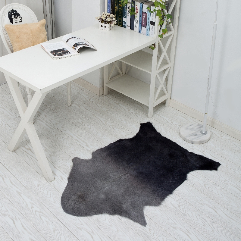 Aliexpress Buy 23x39 Wool Carpet Living Room Top Quality Genuine Sheepskin Rug Goat Skin Mat From Reliable New Suppliers On