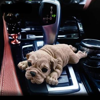leuke gips hond auto parfum luchtverfrisser auto interieur geur geur diffuser thuis aroma luchtreiniger accessoires gift