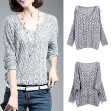 Fall Blouse Women Clothes Stretch Large Size Loose Sweater Necklace Cover Thin Solid Knitted Sweater Shirts(China)