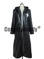 Vocaloid Black Rock Shooter Anime Cosplay Long Trench Coat Full Set Sexy Women