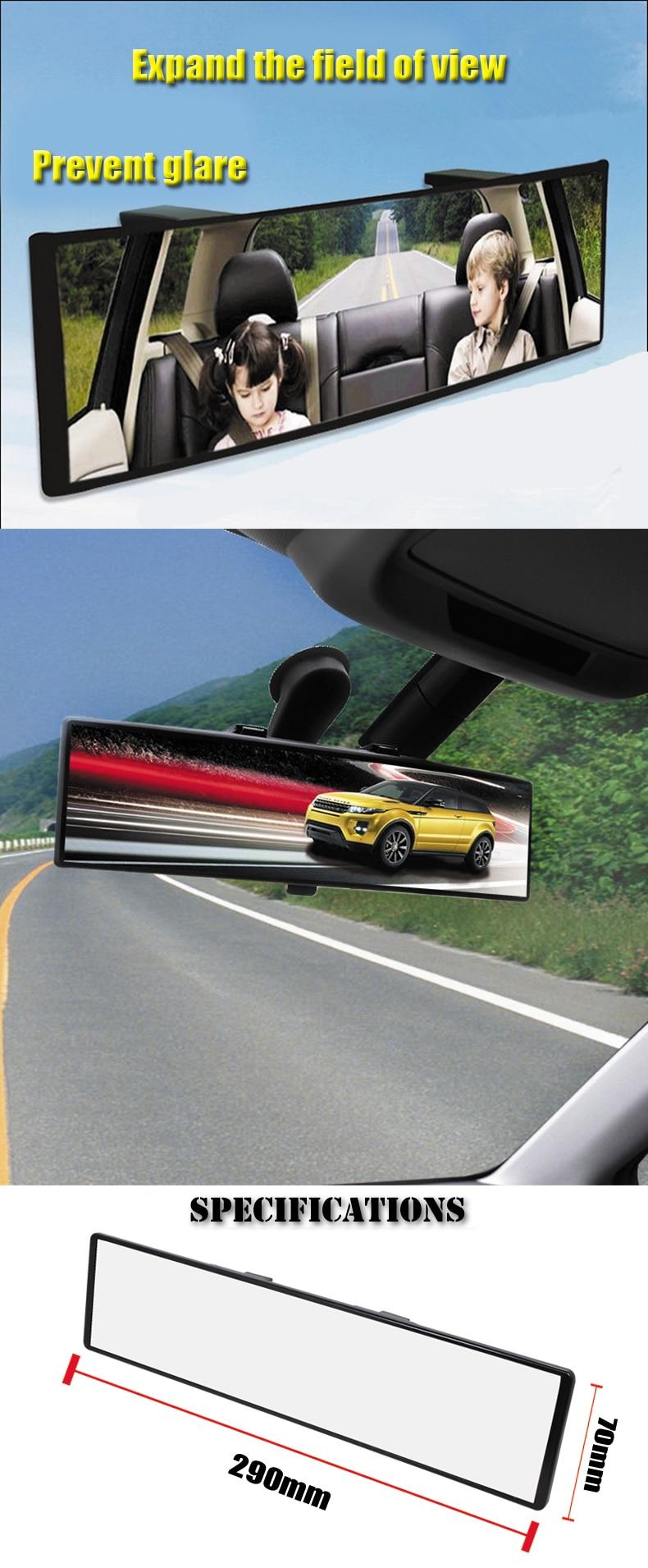 clipe no plano espelho retrovisor 280mm grande