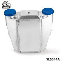 UNIVERSAL ALUMINUM WATER TO AIR TURBO INTERCOOLER FMIC 13.3 x12X4.5 Inlet/Outlet: 3 HU SL5044A