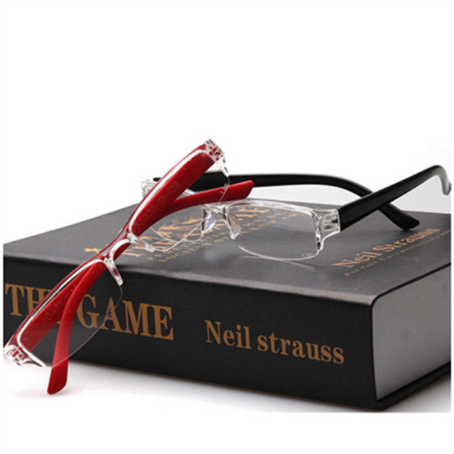 Ultralight Eyebrows Hyperopia Glasses Elegant Reading Glasses Resin Anti-fatigue Lense Men Women Reading Eyewear Eyeglass 2.5