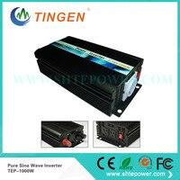 Off grid pure sine wave power inverter solar 1000 w, Dc 24 V para ac 220 V conversores