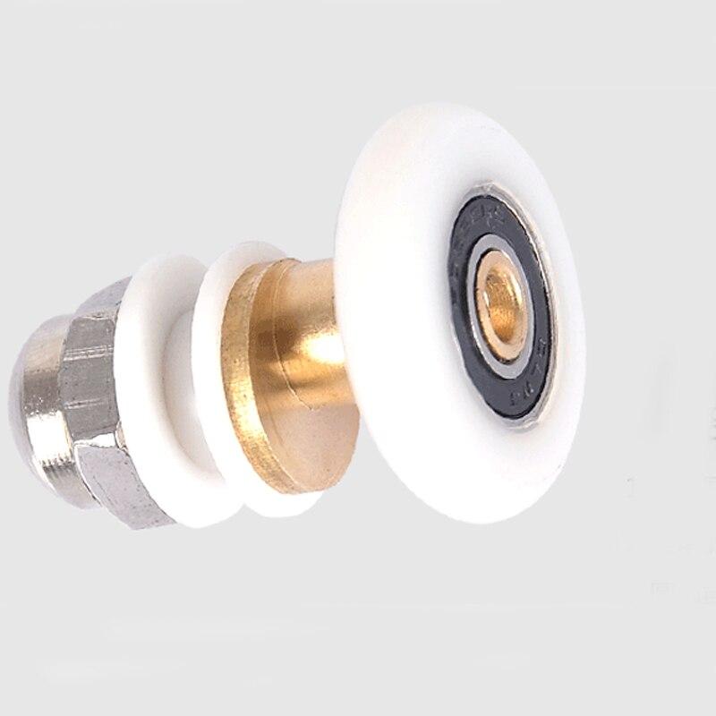 Porta de correr duche rolo Runner roda roda 25 mm diâmetro da roda para 4 - 6 mm de vidro