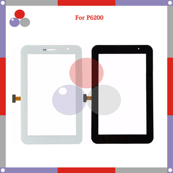10pcs/lot 7.0'' For Samsung Galaxy Tab 7.0 Plus P6200/P6210 Touch Screen Digitizer Sensor Front Outer Glass Lens Panel