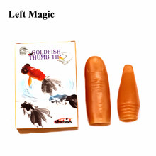 Goldfish Thumb Tip Magic Tricks Finger Magic Fish Close Up Street Stage Magic Props Comedy Mental Magician Gimmick Accessories(China)