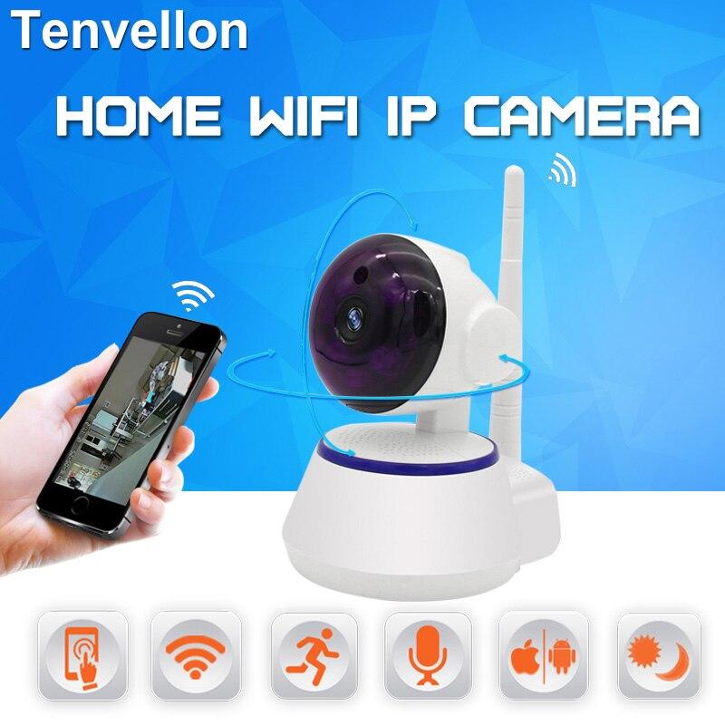 bilder für IP WIFI Kamera HD 720 P Drahtlose Überwachungs Sicherheit System Startseite CCTV Kamera Bewegungserkennung Infrarot IR P2P Babyphone
