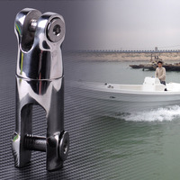 1pc Stainless Steel Anchor 1 4 5 16 Chain 360 Degree Swivel Chain Connector For Marine