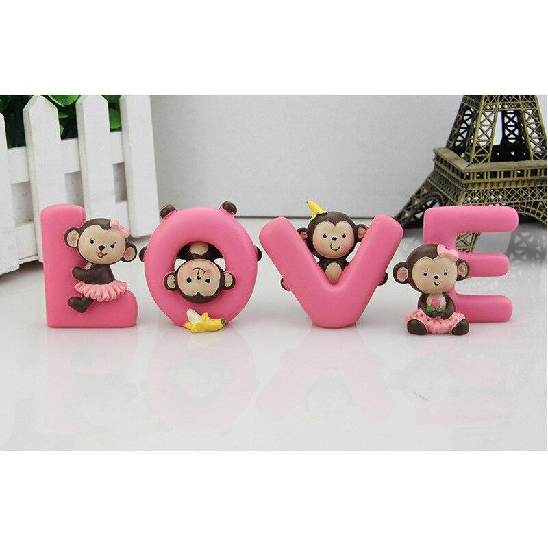 Huiermeimi 1 piezas coche ornamento moda encantadora muñeca del mono ...