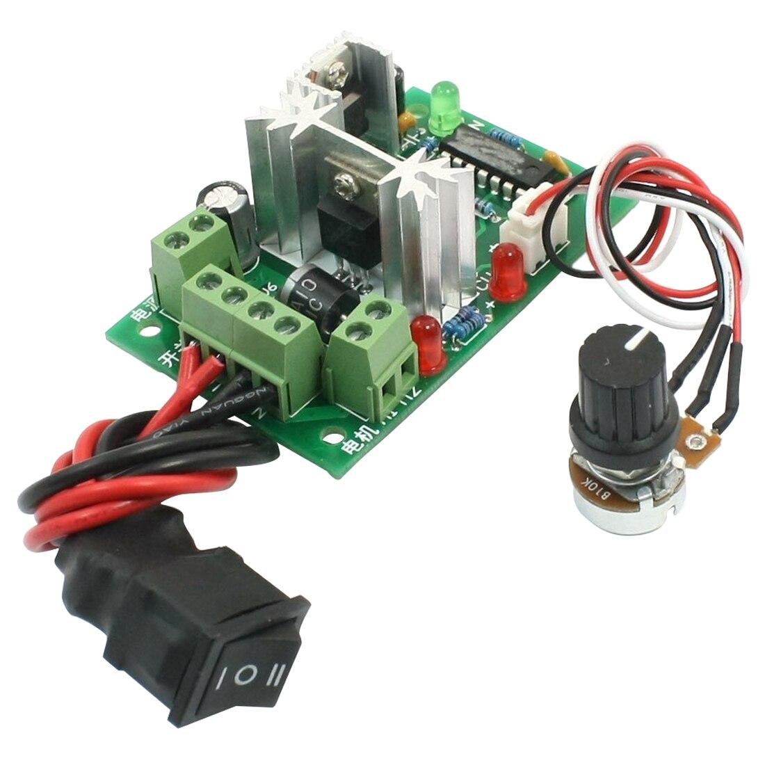 12V 24V 30V 120W PWM Регулируемый Вольт контроллер скорости двигателя постоянного тока CCM2