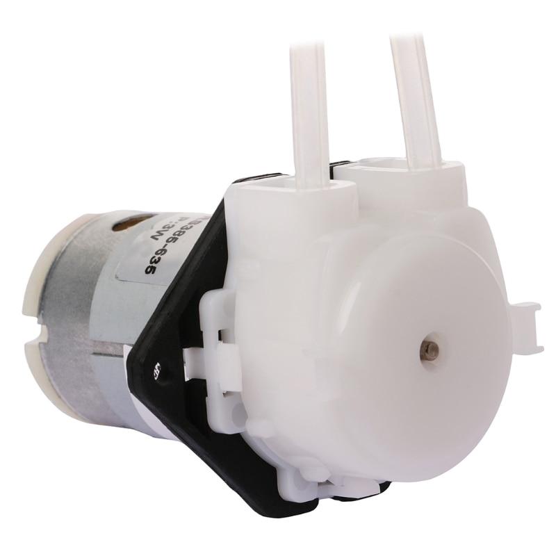 1 Stücke Dc 12 V D3 Kleine Dosierung Pumpe Wasser Pumpe 2mm Diy Peristaltische Rohr Kopf Für Aquarium Lab Labor Wasser Warm Und Winddicht