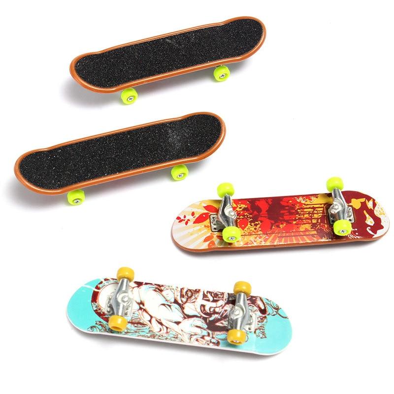 Mini Finger Board Toy Skateboard Kids Skate Gift Children Fingerboard Boy