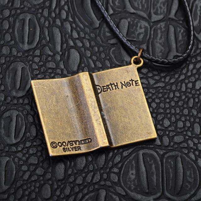 Death Note Retro Skull Pendants Necklace