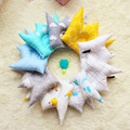 New Snuggle Cuddle Pillow Kids Toys Crown Children Pure Cotton Shaping Pillow Soft Modeling Comfortable Sleep Cute