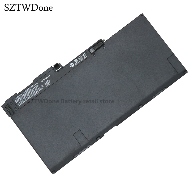 SZTWDone Original Laptop Battery for HP ZBook 14 E7U24AA EliteBook 840 850 G1 CM03XL CM03050XL HSTNN-IB4R HSTNN-DB4Q  716724-171 laptop built in battery tr03xl for hp split x2 13 g110dx split x2 13 series tr03xl hstnn db5g hstnn ib5g hq tre 723922 171 72392