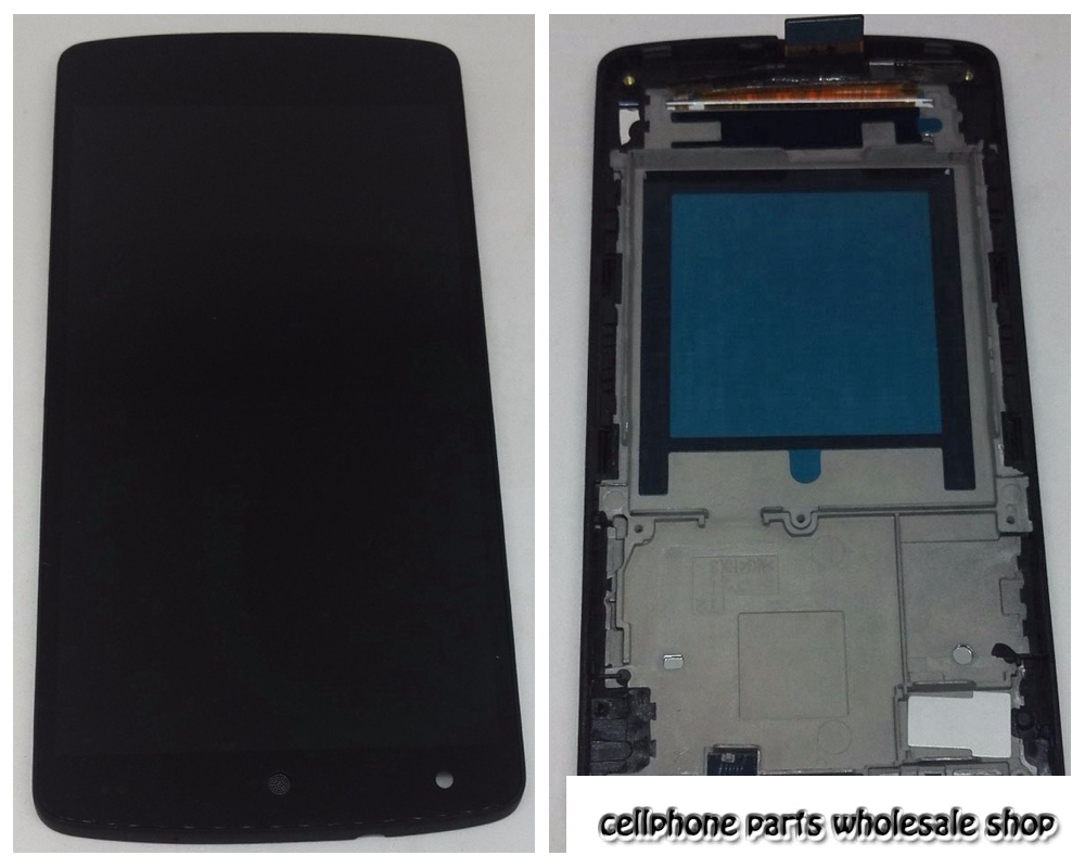 Per Lg Google Nexus 5 D820 D821 Lcd Screen Display Con Touch Glass Digitizer + Complessivo telaio