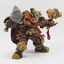 Wow DC-figura de acción de serie ilimitada, 6 pulgadas, Magni, Bronzebeard [Dwarven King], WOW, figura modelo de PVC, envío gratis, GS005