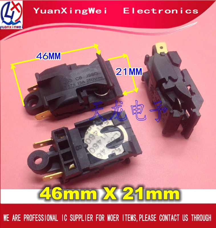 1PCS 13A XE-3 JB-01E 888-A Universal hot water kettle switch electric kettle parts thermostat jb 01e sld 113 ch 588 sl 888 zl 189 a zl 189 b kettle steam switch