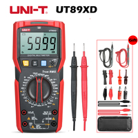 UT89XD True RMS Digital Multimeter 20A DC AC LED testing 2.8 LCD Display 6000 Counts NCV Capacitance Frequency Resistance
