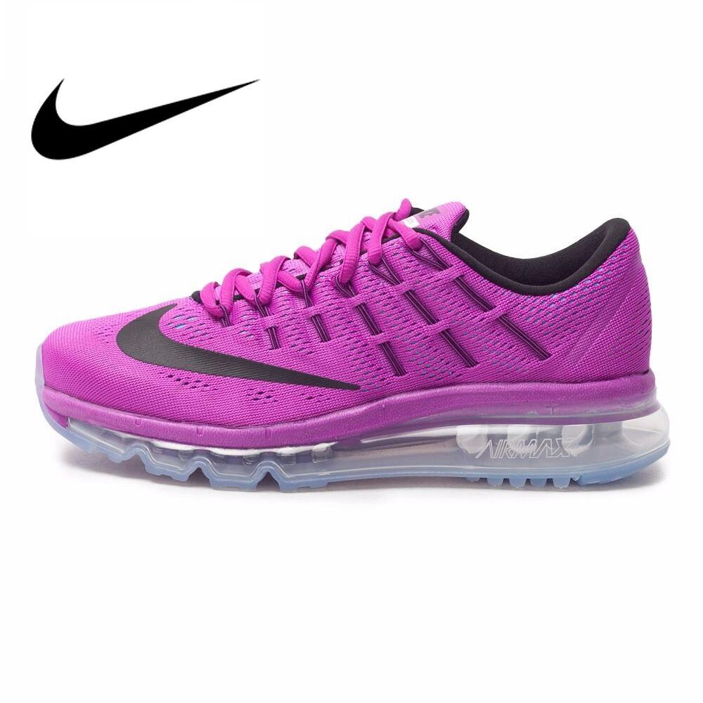 Original Et Authentique NIKE Style Mesh Respirant AIR MAX Chaussures de Course des Femmes Espadrilles de Marche En Plein AIR Jogging Sneakers 806772-503